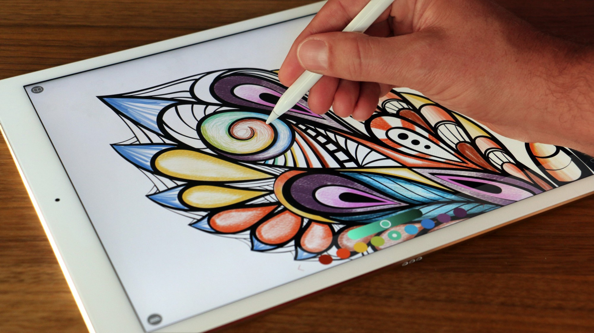 The ONLY true coloring book experience on iOS — Pigment 13