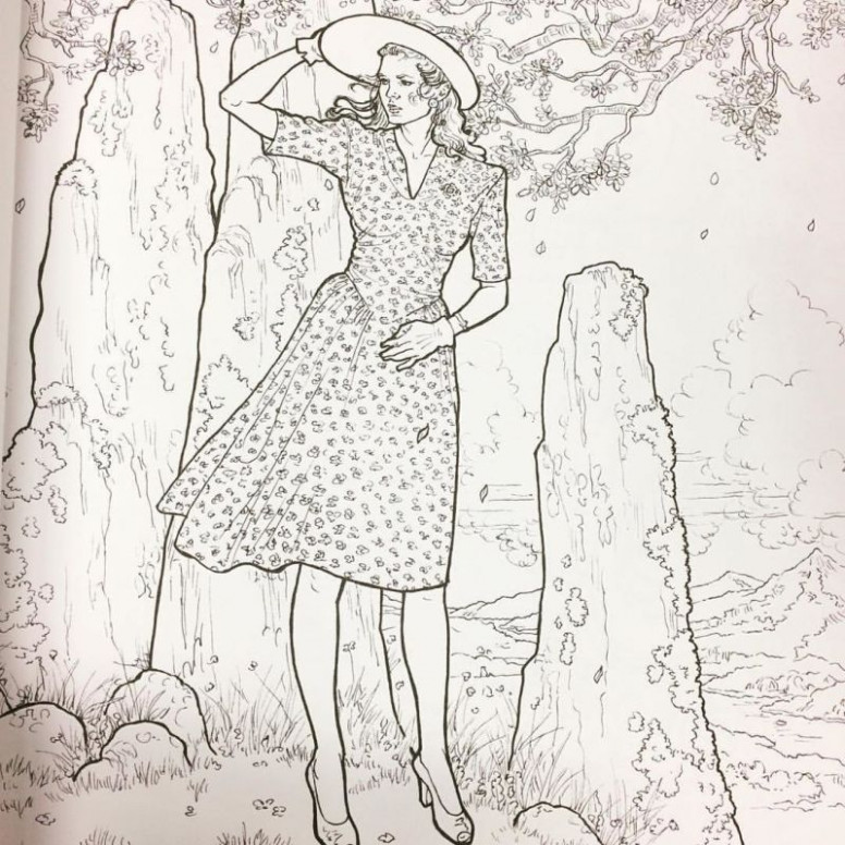 The Outlander Coloring Book Is An Actual Thing That Exists – outlander coloring book