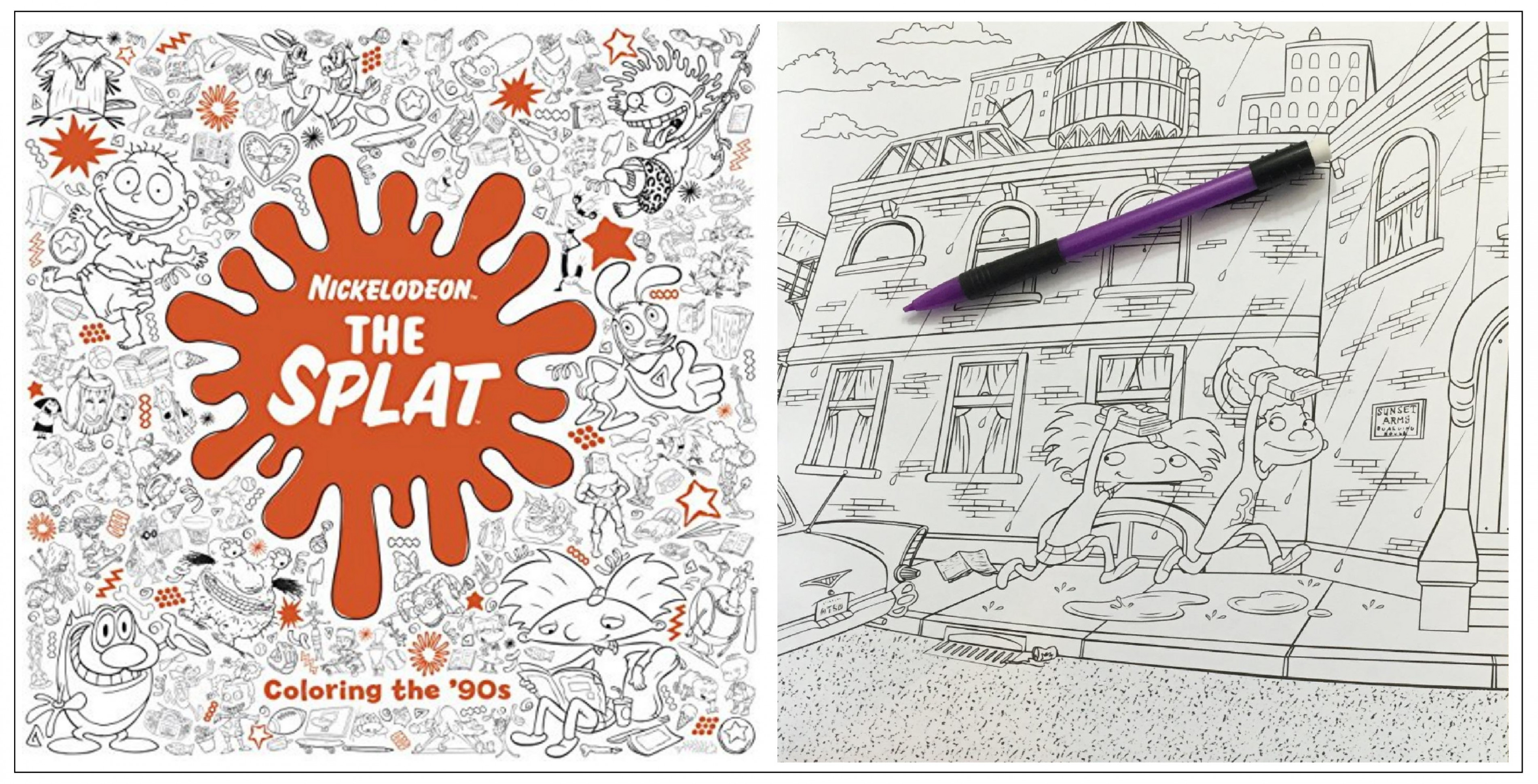 The Splat Coloring Book – Coloring Pages – nickelodeon the splat coloring book