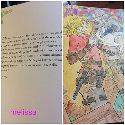 The Throne of Glass Coloring Book by Sarah J. Maas