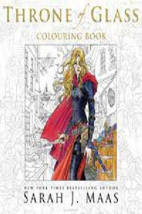 The Throne Of Glass Colouring Book by Sarah J. Maas - 20