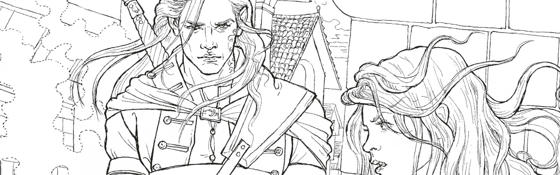 The Throne of Glass Colouring Book Free Pattern Download - WHSmith Blog
