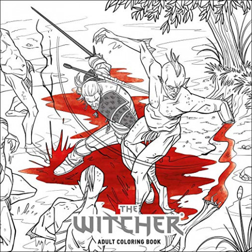 The Witcher Adult Coloring Book: Amazon.de: CD Projekt Red ..