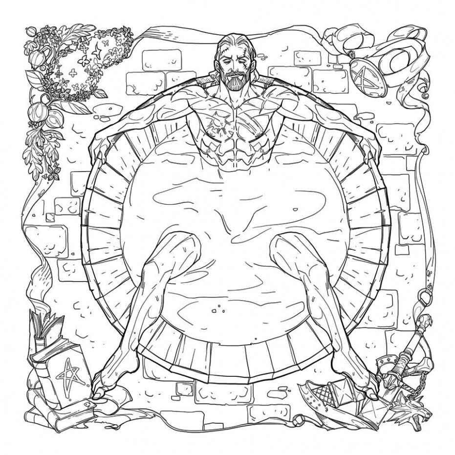 The Witcher is getting a coloring book for adults and it features ..