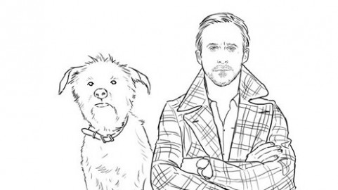 This Actually Exists: The Ryan Gosling Coloring Book | GQ