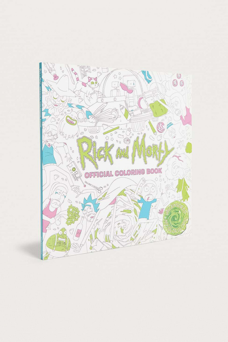 "Titan Books – Malbuch ""Rick and Morty Official Colouring Book ..."