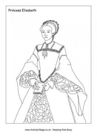 Tudor Kings and Queens coloring pages | coloring | Pinterest ..