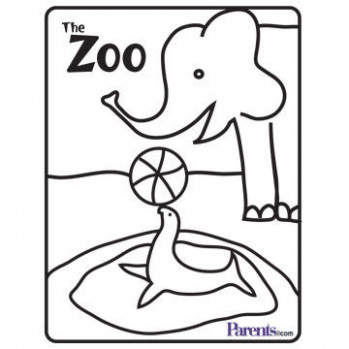 Uncategorized. Zoo Coloring Book - All About Of Coloring Page Picture