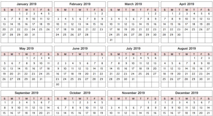 us fiscal year 15 calendar with free download printable us federal ...