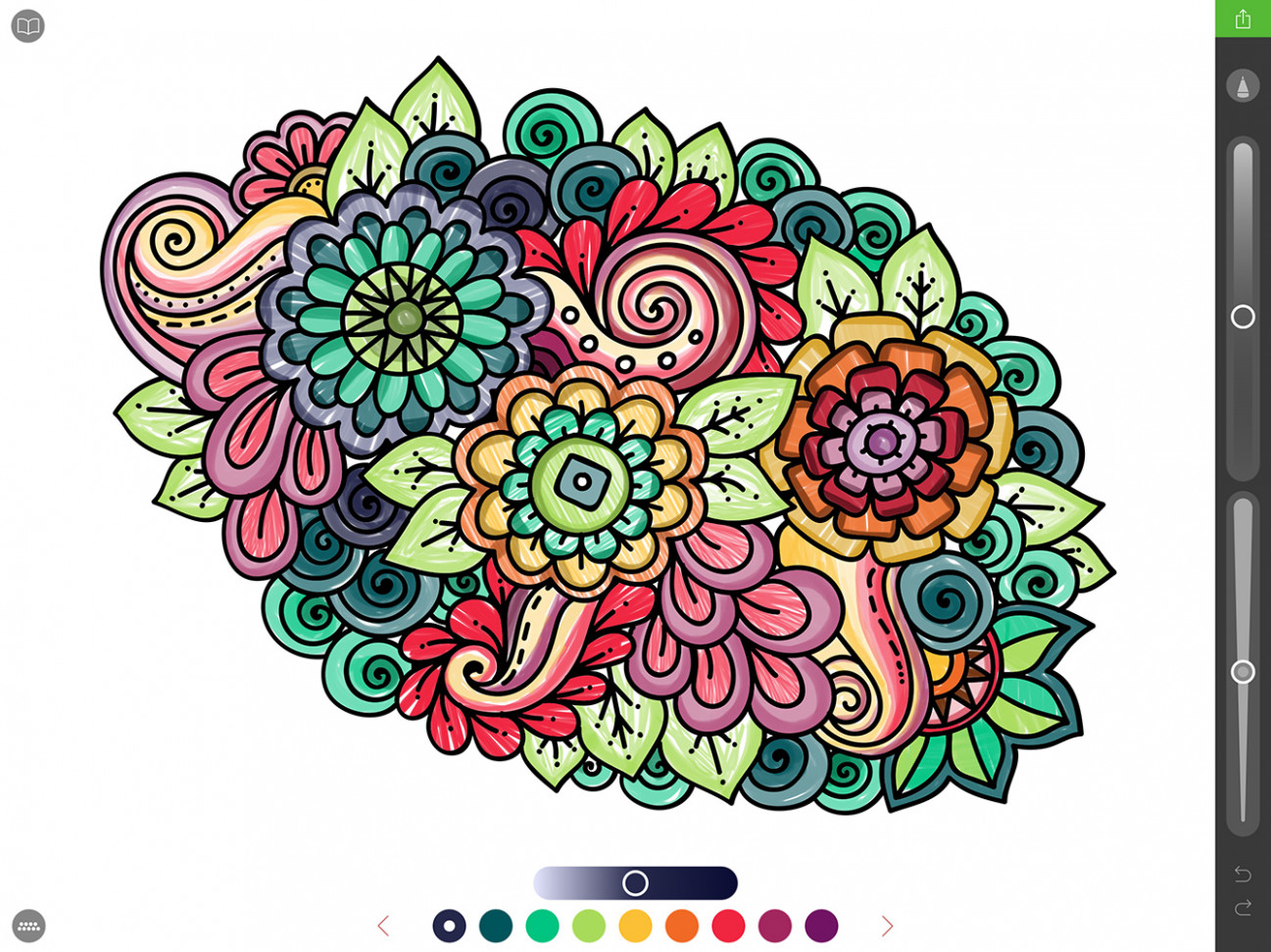 Using the iPad Pro and Apple Pencil for Coloring Books - Pigment