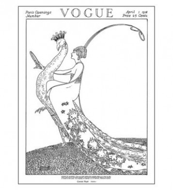 Vogue Colors A to Z: A Fashion Coloring Book by Valerie Steiker ...