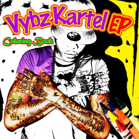 Vybz Kartel - Colouring Book EP [Explicit] by Various artists on ...
