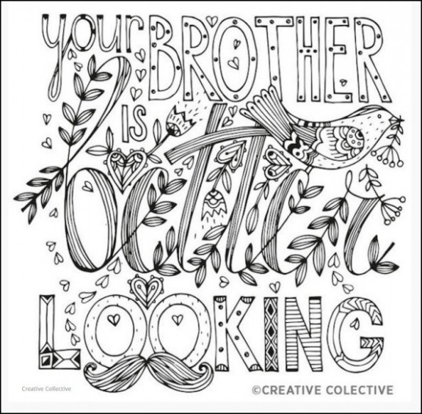 What Adult Coloring Books Show Us: Light, and Dark – the coloring book pages
