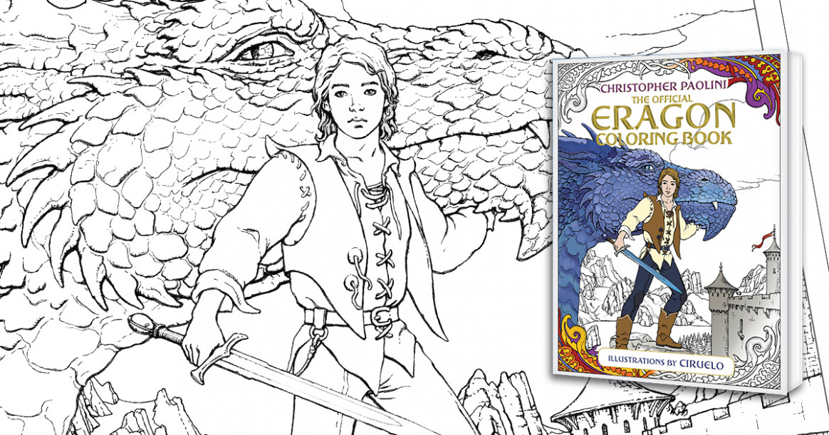 What will the Eragon Coloring Book contain? Here's everything we ..
