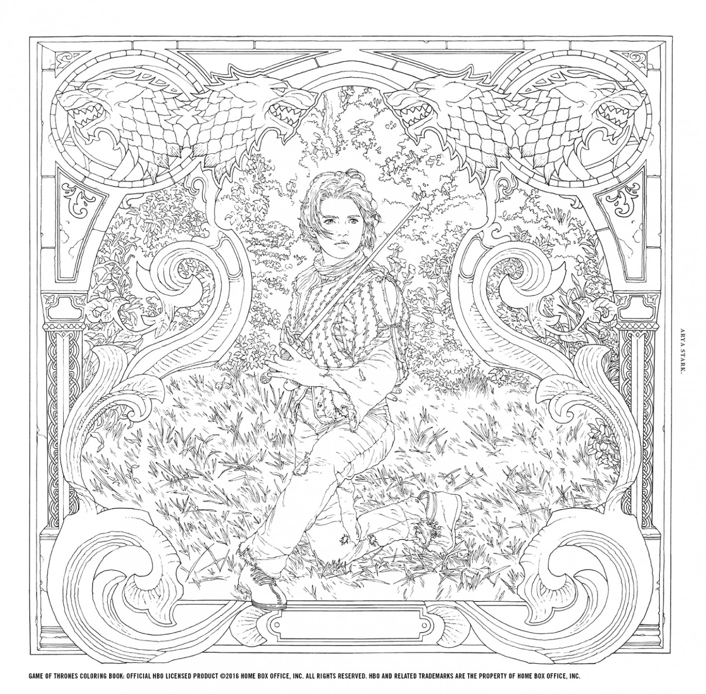 Win the Game of Thrones Coloring Book! | Watchers on the Wall | A ..