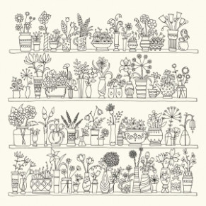 World of Flowers: A Colouring Book and Floral Adventure - Kwiaty i ..