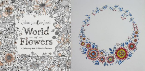 World of Flowers: A Colouring Book  – world of flowers a coloring book and floral adventure