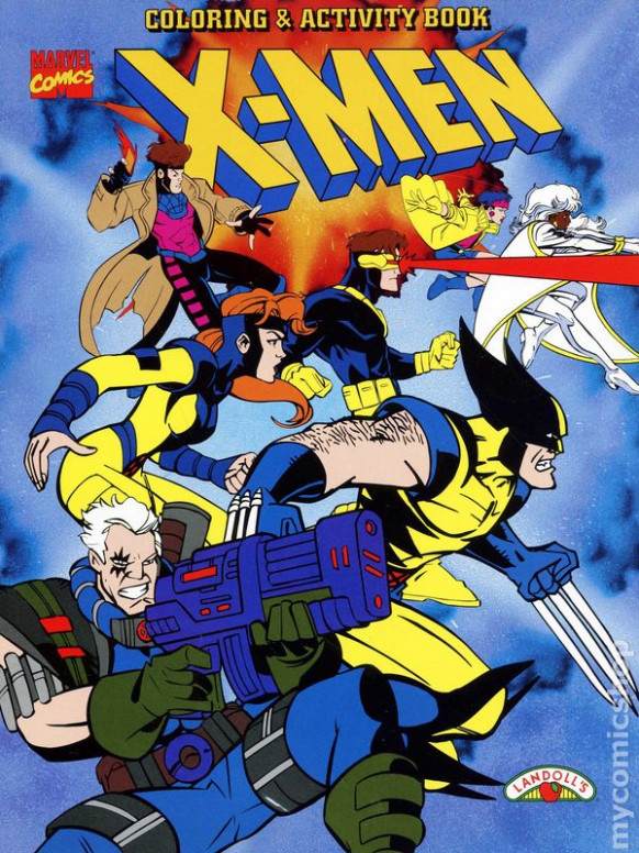 X-Men Coloring and Activity Book SC (16 Landoll's) comic books
