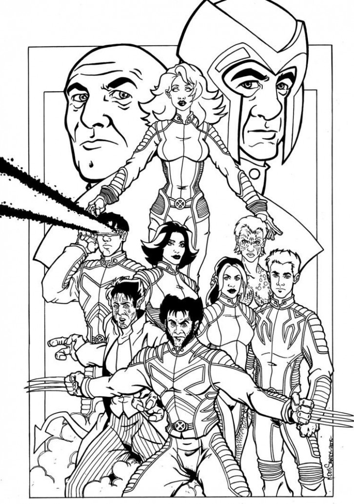 X-Men Coloring Pages 16   I like to color   Pinterest   Coloring ..