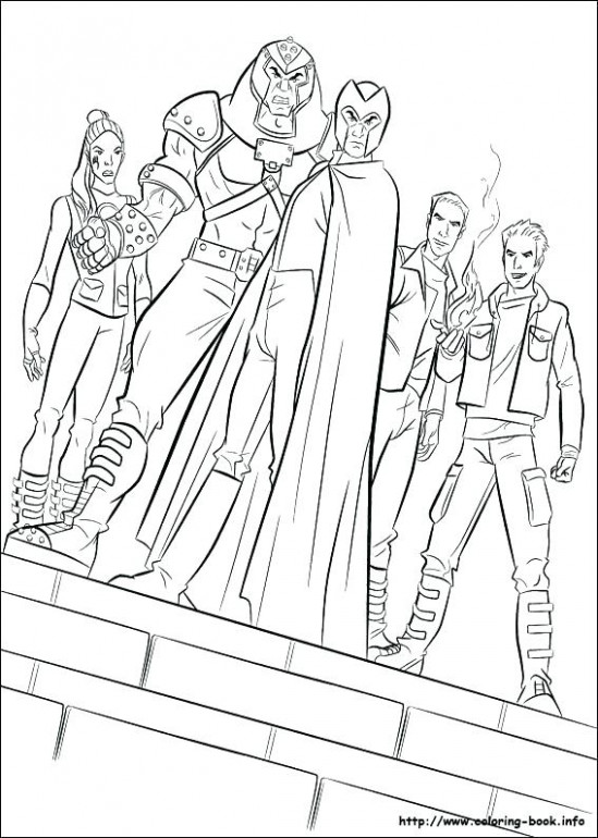 X Men Coloring Pages Coloring Pages Download X Men Free Printable ...