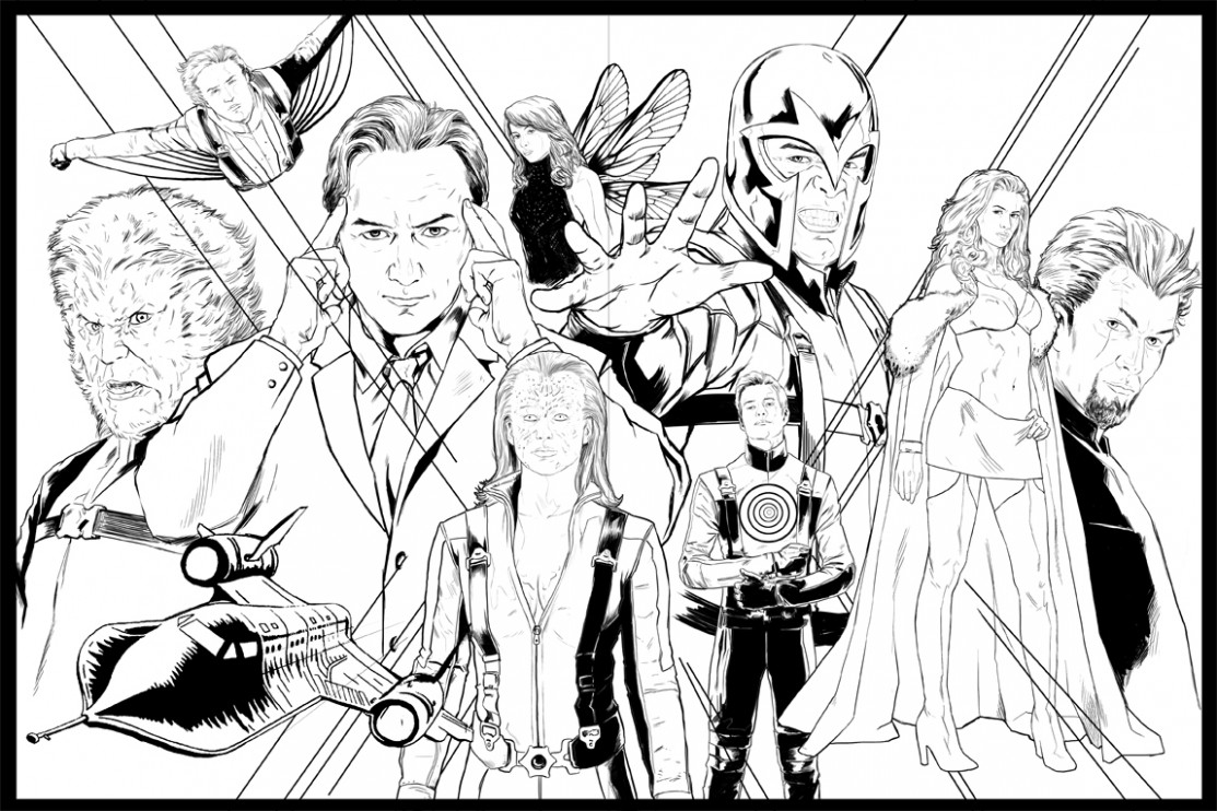 X Men Coloring Pages Free 20 With X Men Coloring Pages Free ..