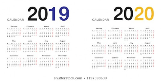 Year 13 Year 13 Calendar Vector Stock Vector (Royalty Free ...