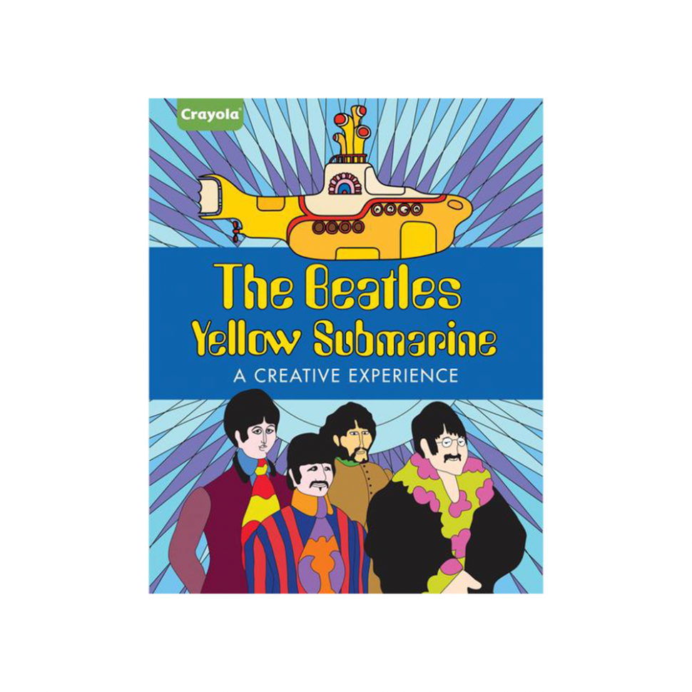 Yellow Submarine: A Creative Experience Coloring Book – The Beatles – yellow submarine coloring book