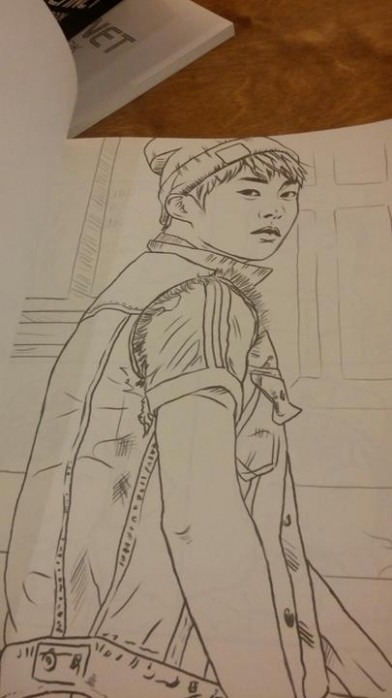 YESASIA: Image Gallery - EXO - EXOPLANET Coloring Book - North ..