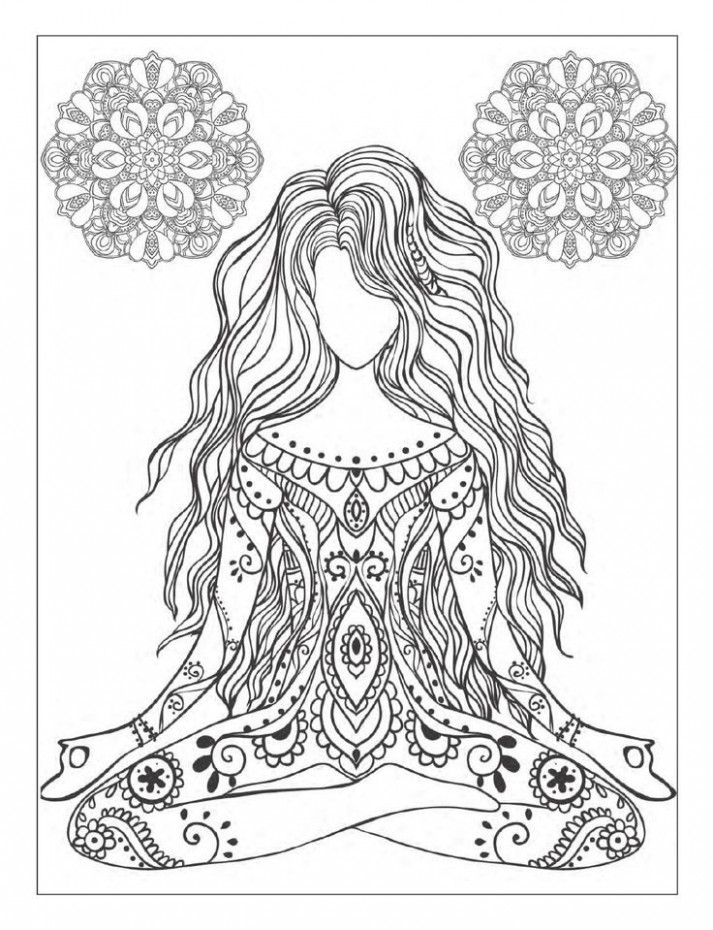 Yoga and meditation coloring book for adults: With Yoga Po…   Flickr