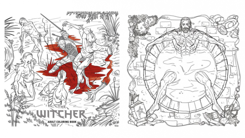 You know you want this Witcher colouring-in book | NAG – witcher coloring book