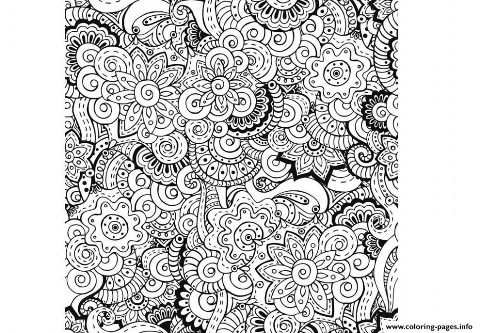Zen Antistress Free Adult 16 Coloring Pages Printable – zen coloring book for adults download