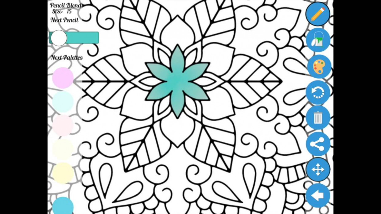 Zen Coloring App usage basic instructions - YouTube - zen coloring book app