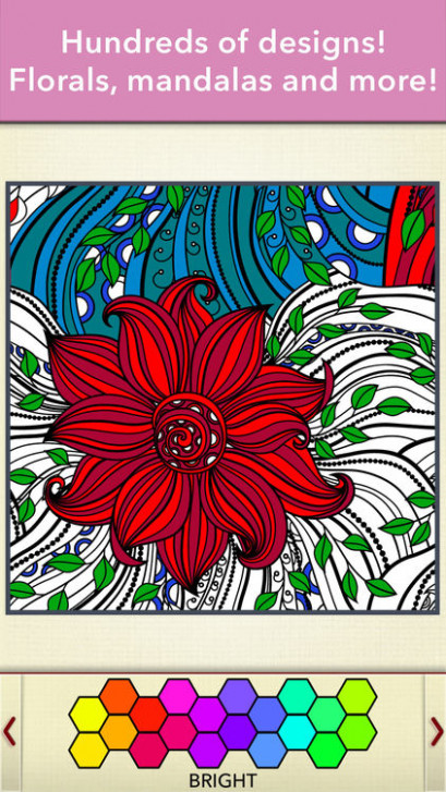 Zen Coloring Book for Adults by Adult Coloring Book Apps, LLC – zen coloring book app