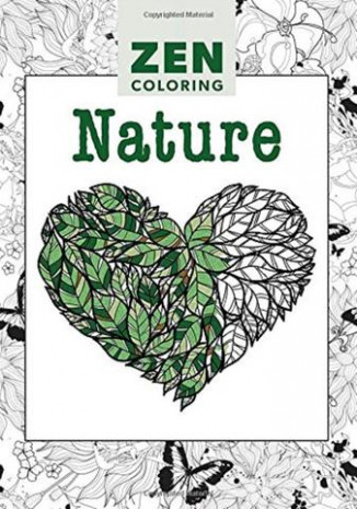Zen Coloring Book - Nature- Adult Art Activity – Online Science Mall