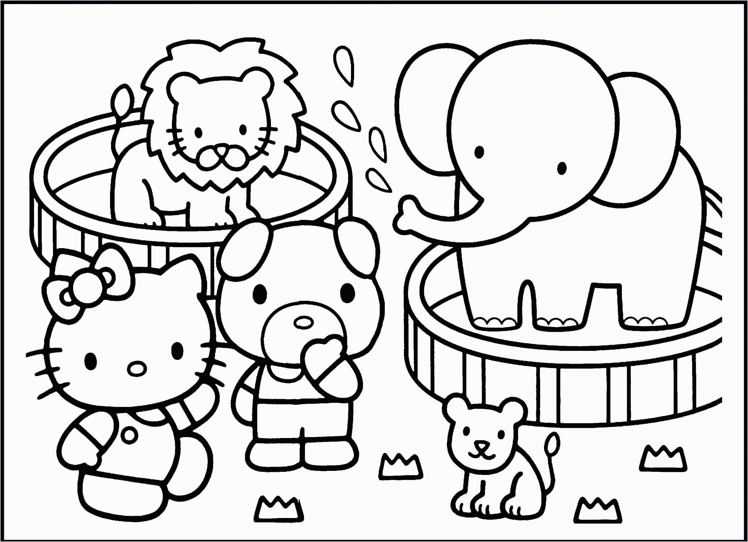 Zoo Coloring Book Fabulous Free Printable Zoo Coloring Pages for ..