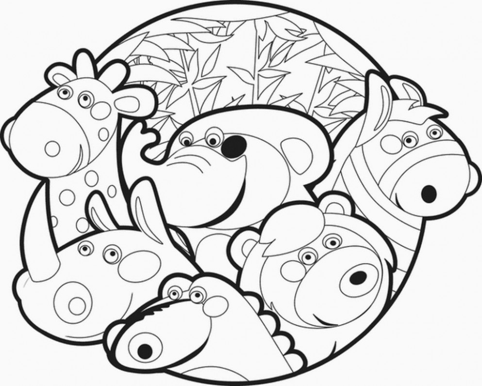 zoo coloring sheets free | Coloring Pages Ideas in 20 | Pinterest ...