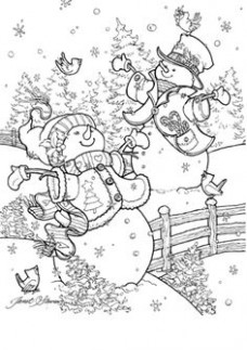 12 Best Christmas To Color images in 12 | Coloring Pages ...