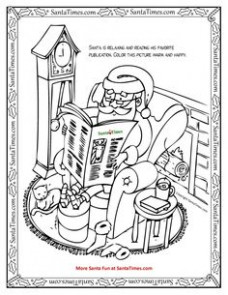12 Best Printable Christmas Coloring and Activity Pages images in ..