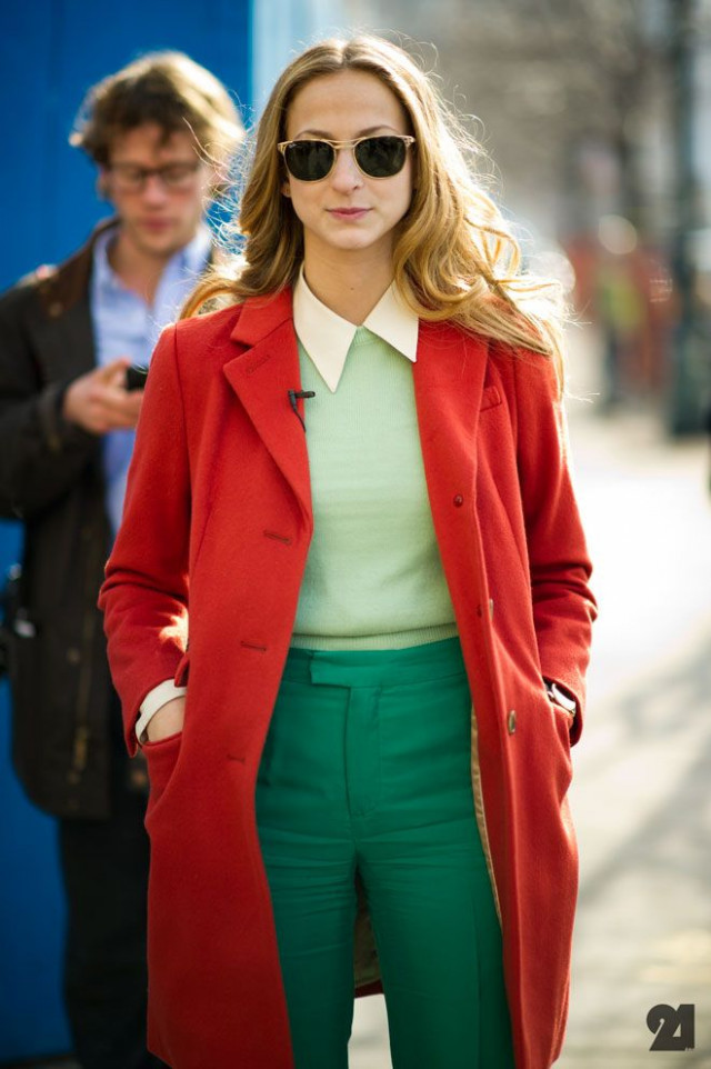 12 color block outfits for Christmas parties – stylishwomenoutfits