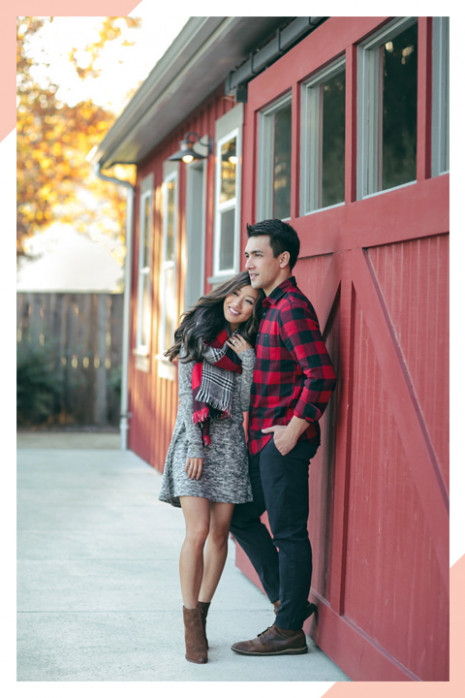 12 Picture Perfect Christmas Outfit Ideas | Shutterfly - Christmas Color Outfits