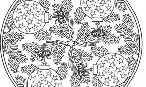 13 Christmas Coloring Pages For Adults