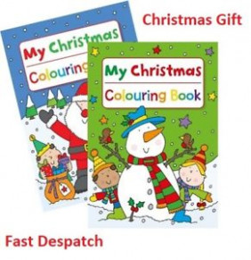 13 x A13 13 PAGE JUMBO CHILDREN'S CHRISTMAS COLOURING BOOKS BOOK FUN ...