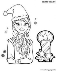 14 Best Free Christmas Coloring Pages For Adults  – Elsa Christmas Coloring Pages Printable