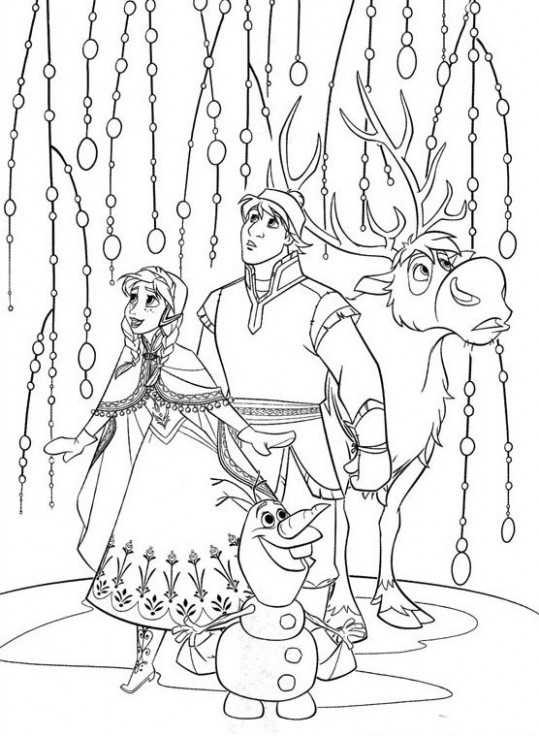 14 Free Disney Frozen Coloring Pages | Coloring for Kids | Frozen ..