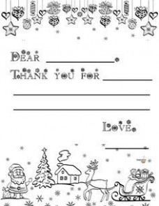 14 Free Printable Christmas Thank You Notes for Kids | Ways to say ..