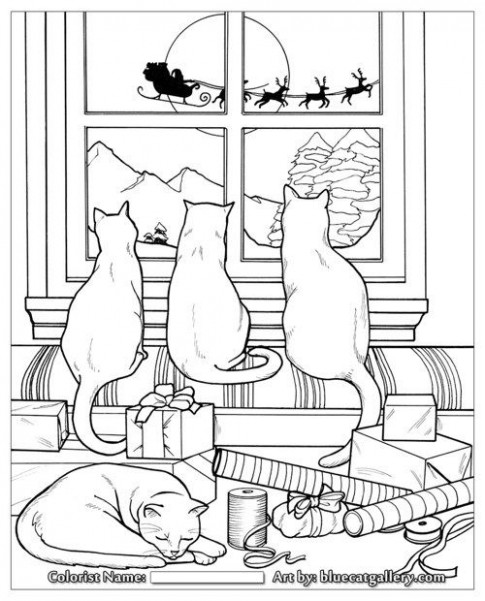 15  Christmas Coloring Books to Set the Holiday Mood | Coloring isn ..