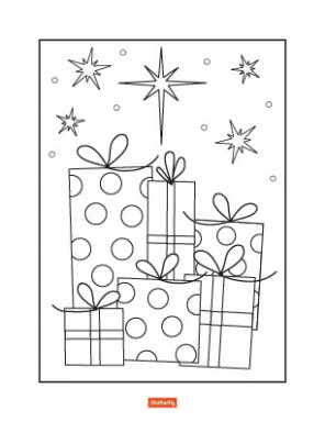 15 Christmas Coloring Pages for Kids   Shutterfly