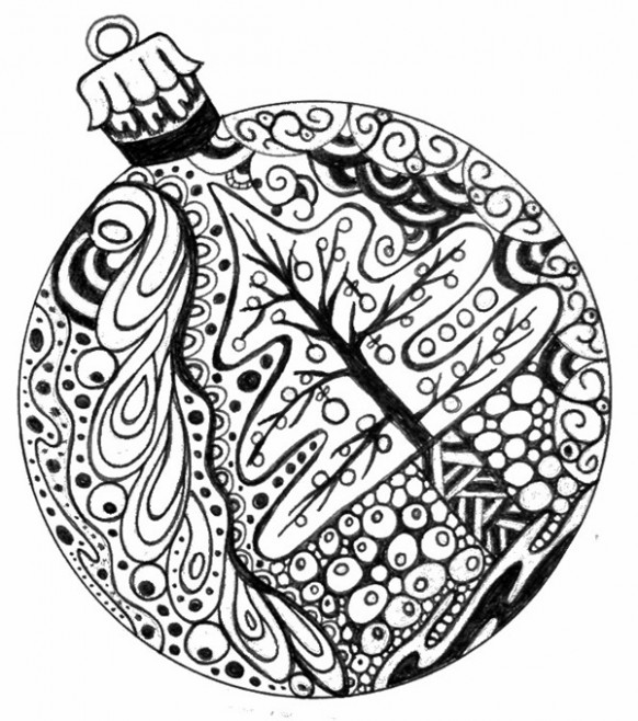 15 Christmas Printable Coloring Pages - EverythingEtsy.com