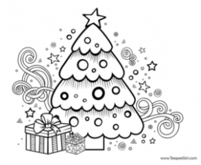 15 Free Christmas Coloring Pages - Grandma Ideas