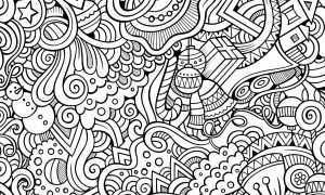 15 Free Printable Holiday Adult Coloring Pages | Coloring pages ...